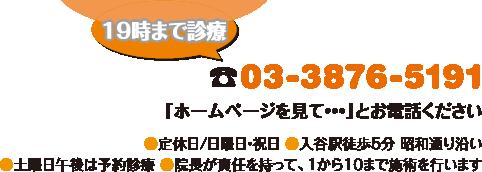 電話:03-3876-5191